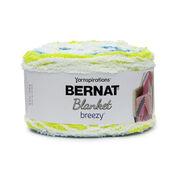 Go to Product: Bernat Blanket Breezy Yarn in color Citron Splash