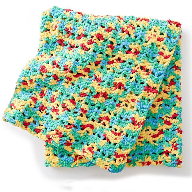 Bernat Bright Beginnings Crochet Blanket Yarnspirations