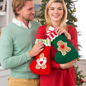 Go to Product: Red Heart Gingerbread Stockings in color