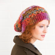 Red Heart Upscale Slouchy Hat