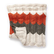 Go to Product: Bernat Ripple and Ridge Knit Blanket in color