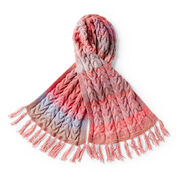 Go to Product: Red Heart Knit Cabled Wrap in color