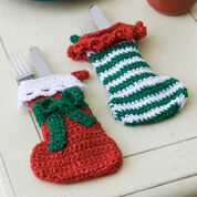 Red Heart Elf Stockings