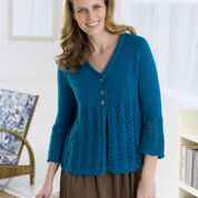 Red Heart Cardi to Love, S