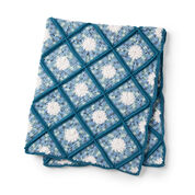 Go to Product: Caron Garden Lattice Crochet Afghan in color