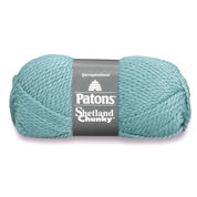 Go to Product: Patons Shetland Chunky Yarn in color Soft Teal