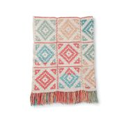 Go to Product: Caron Diamond Blocks Crochet Blanket in color