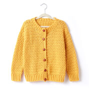 Go to Product: Caron Adult Crochet Crew Neck Cardigan, XS/S in color