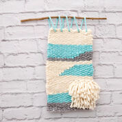 Red Heart Woven Wall Hanging