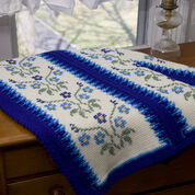 Go to Product: Red Heart Morning Glory Afghan in color