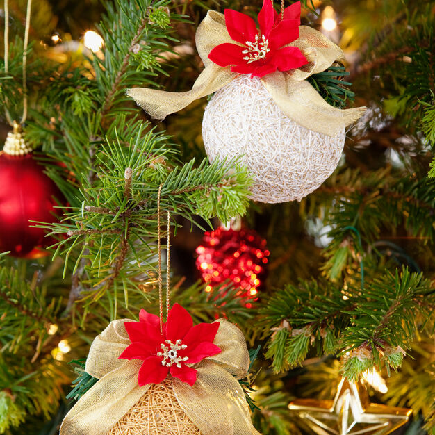 Aunt Lydia's Easy Wrap Holiday Ornaments, S in color