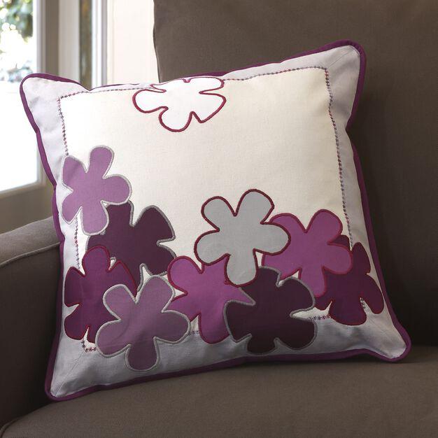 Dual Duty Springtime Applique Pillows in color