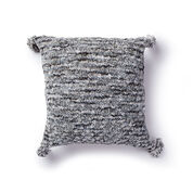 Bernat Cable Textured Knit Pillow