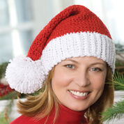 Red Heart Santa Hat, S/M