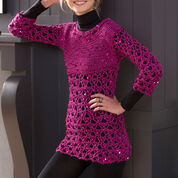 Go to Product: Red Heart Glitz and Glamour Tunic, S in color