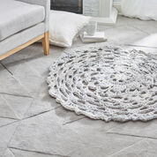 Red Heart Comforting Rug