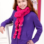 Go to Product: Red Heart Easy-Enough-for-a-Child Chain Scarf in color
