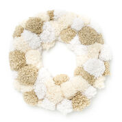 Go to Product: Bernat Pompom Wreath in color