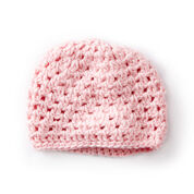 Caron Baby's First Cluster Hat
