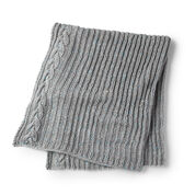 Go to Product: Bernat Cable Edged Knit Blanket in color