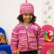 Go to Product: Red Heart Cute Cardi & Hat, 2 yrs in color