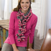 Go to Product: Red Heart Rosy Ruffle Scarf in color