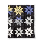 Bernat Snowflake Crochet Blanket
