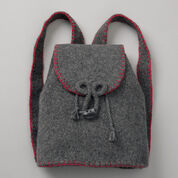 Patons Felted Flannel Backpack