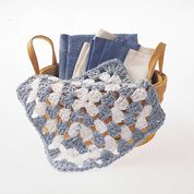 Go to Product: Peaches & Crème Granny Square Crochet Dishcloth in color