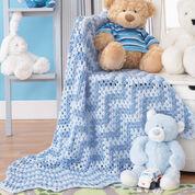 Bernat Granny Waves Blanket