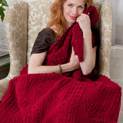 Go to Product: Red Heart Branches & Berries Throw in color