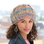 Red Heart Soft Pastel Knit Hat