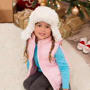 Go to Product: Red Heart Snowy Child Earflap Hat, S in color