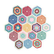 Go to Product: Red Heart Mandala Sampler Throw in color