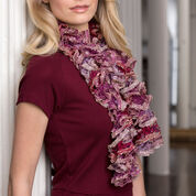 """Red Heart Clementina Scarf, 38"""""""