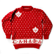 Patons Canada Knit Adult Sweater, XS/S