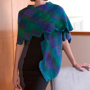 Go to Product: Red Heart Crocheted Gradient Strips Shawl in color