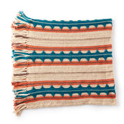 Go to Product: Caron Southwest Stripe Crochet Blanket in color