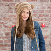 Red Heart Teddy Love Hat, S/M