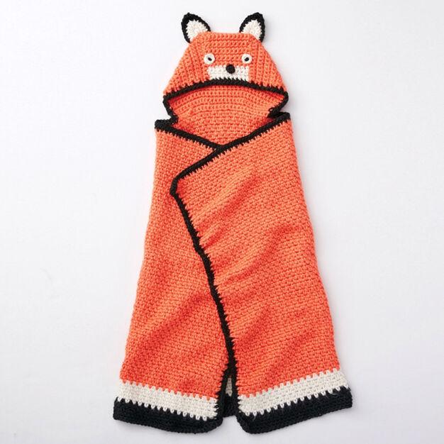 Bernat Like A Fox Blanket Yarnspirations