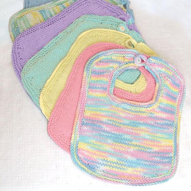 Bernat Knit Bibs And Booties Pattern Yarnspirations