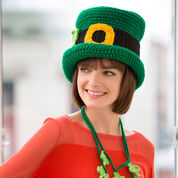 Go to Product: Red Heart St. Patrick's Day Chapeau, S in color