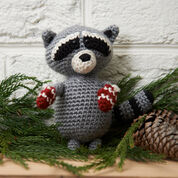 Go to Product: Red Heart Raccoon Ornament in color