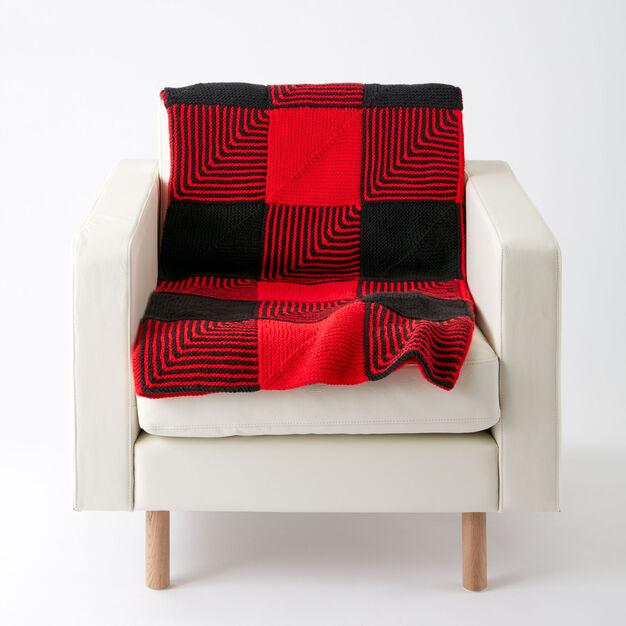 Caron Lumberjack Blanket in color