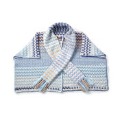 Go to Product: Bernat Color Weave Crochet Wrap in color