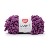 Go to Product: Red Heart Loop-It Yarn (100 g/3.5 oz) in color Berry Gorgeous