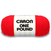 Go to Product: Caron One Pound Yarn in color Scarlet