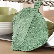 Bernat Garden Leaf Dishcloth