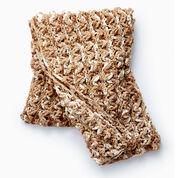 Bernat Wavy Ridge Crochet Blanket