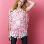 Red Heart Lighthearted Tunic